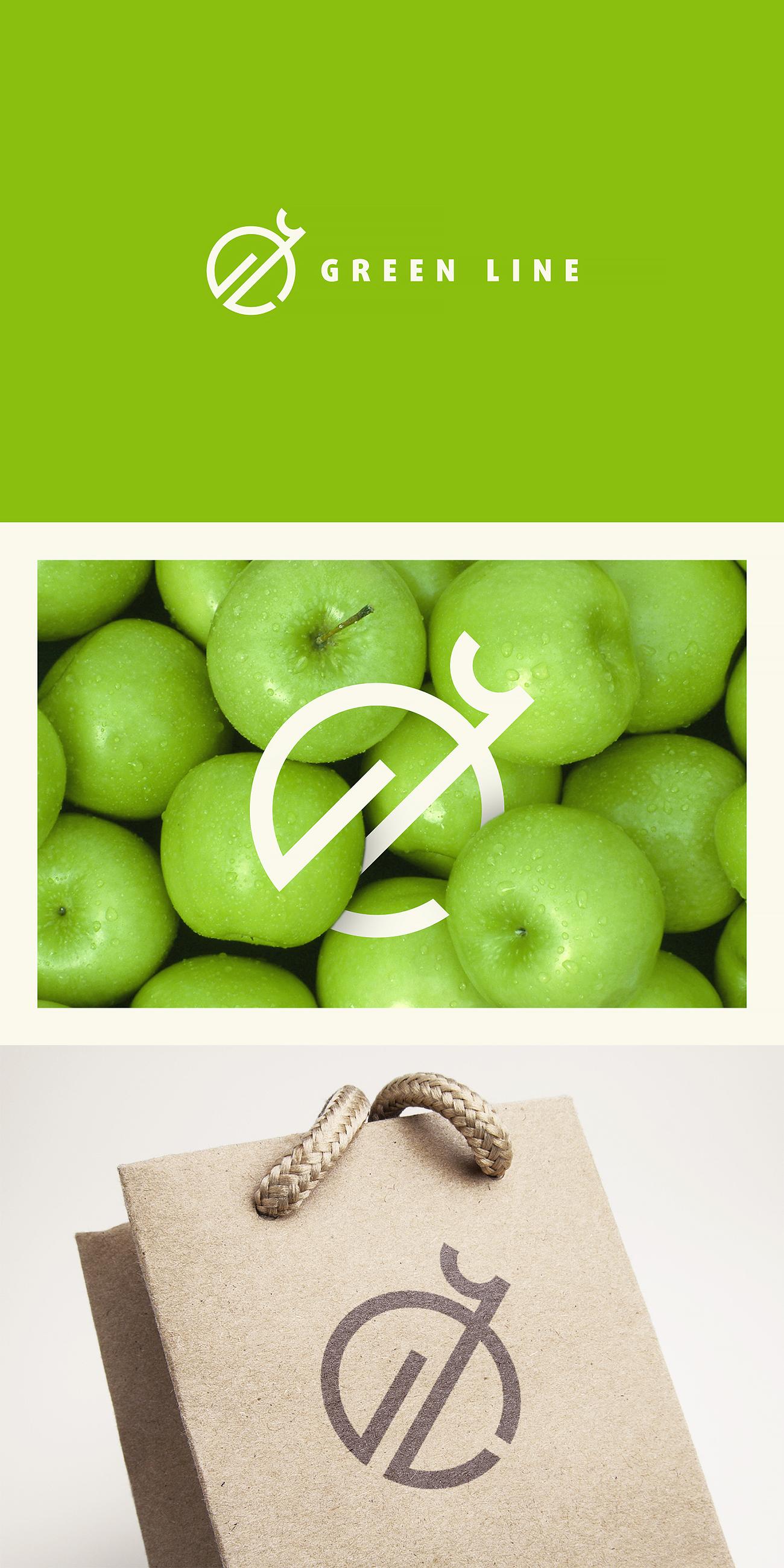 """Разработка Логотипа и фирменного стиля ООО """"Грин лайн"""" фото f_6825db47082a4f64.jpg"""