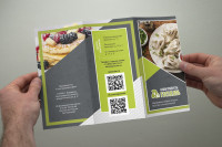 Брошюра еврофлаер (криодиета, здоровое питание, еда)