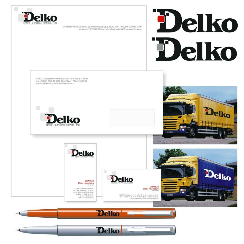 Вариант лого DELKO