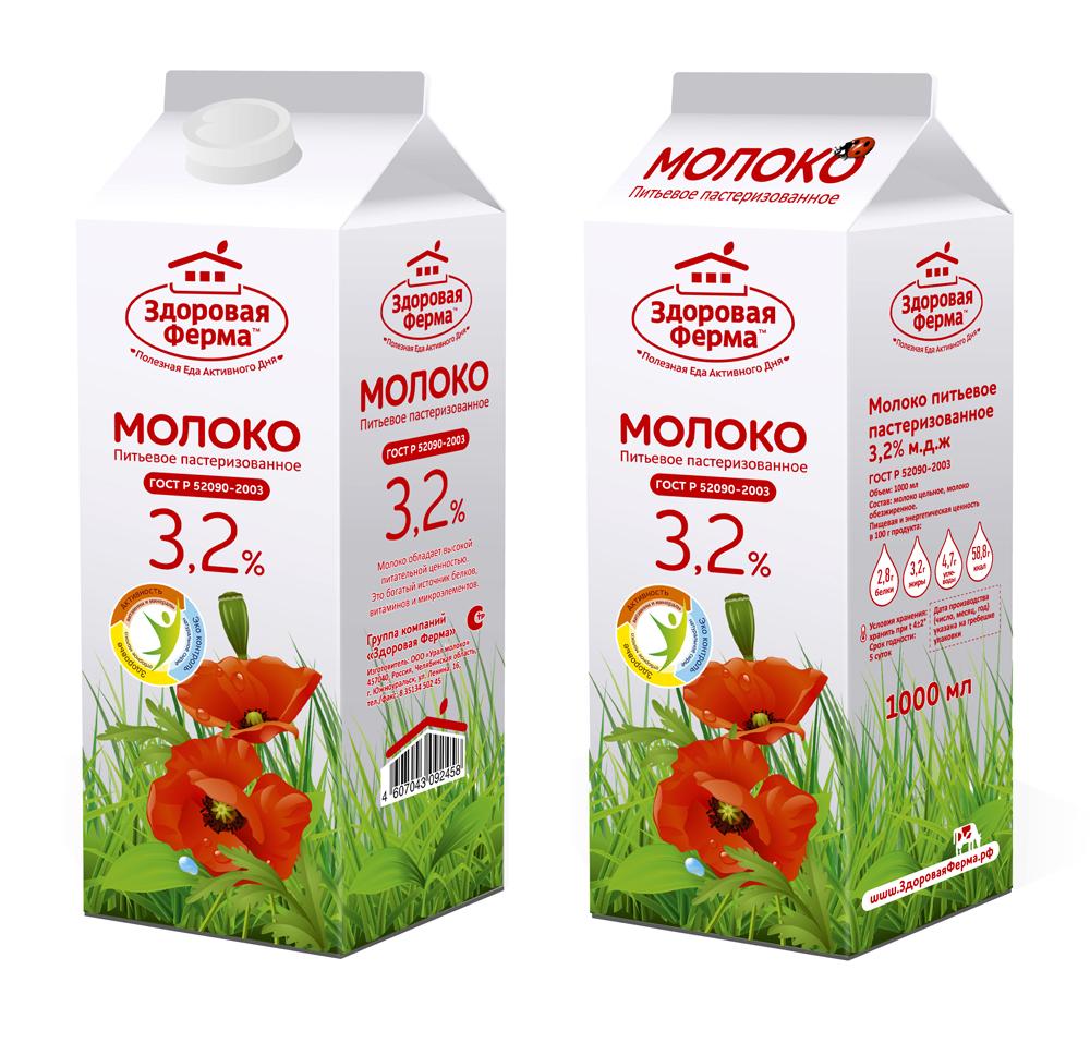 рестайлинг упаковки молока