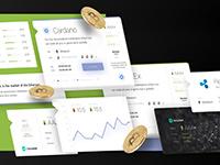 ICO – кейс по разработке дизайна сайта для инвесторов в сфере блокчейна и криптовалют