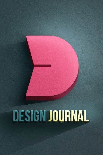Аватарка для паблика Design Journal