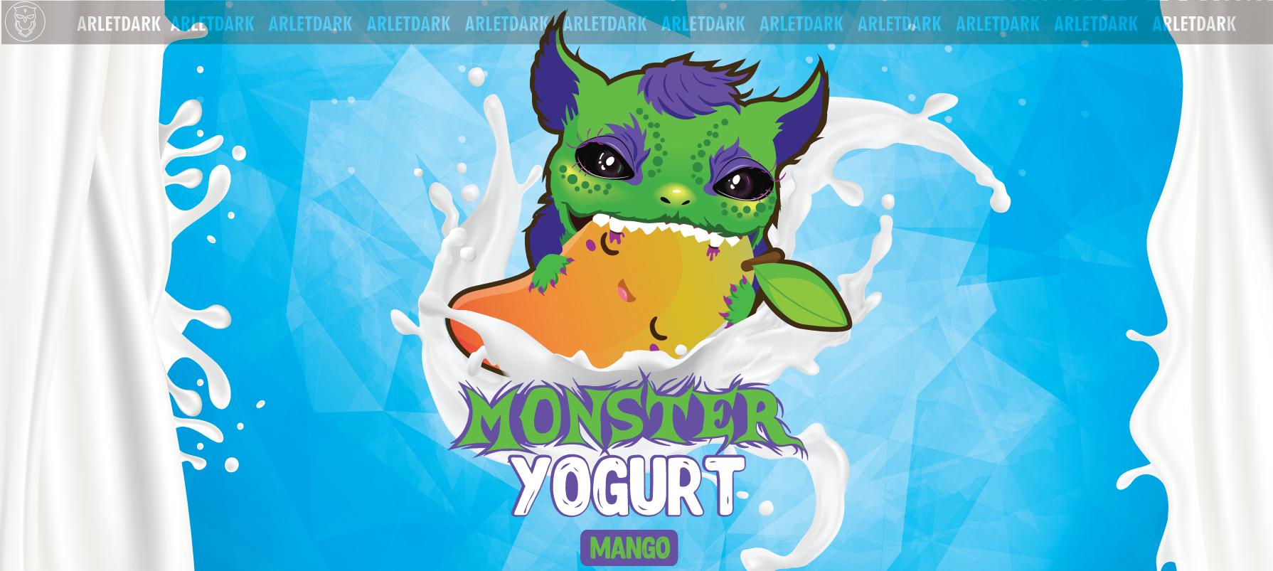 Monster yogurt mango