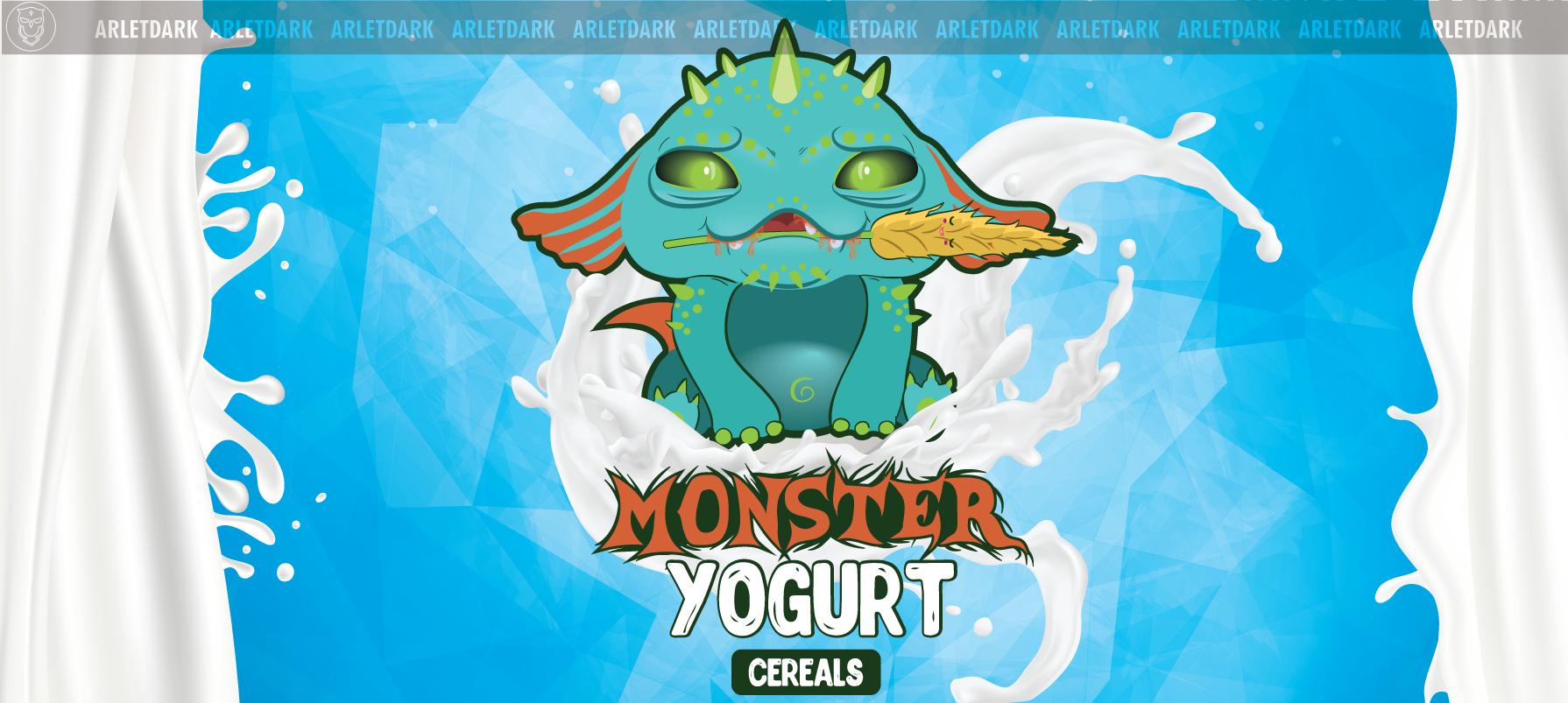 Monster yogurt cereals
