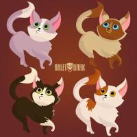 Набор котов