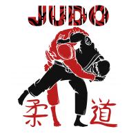 Принт для футболки Judo