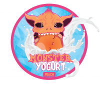 Monster yogurt peach