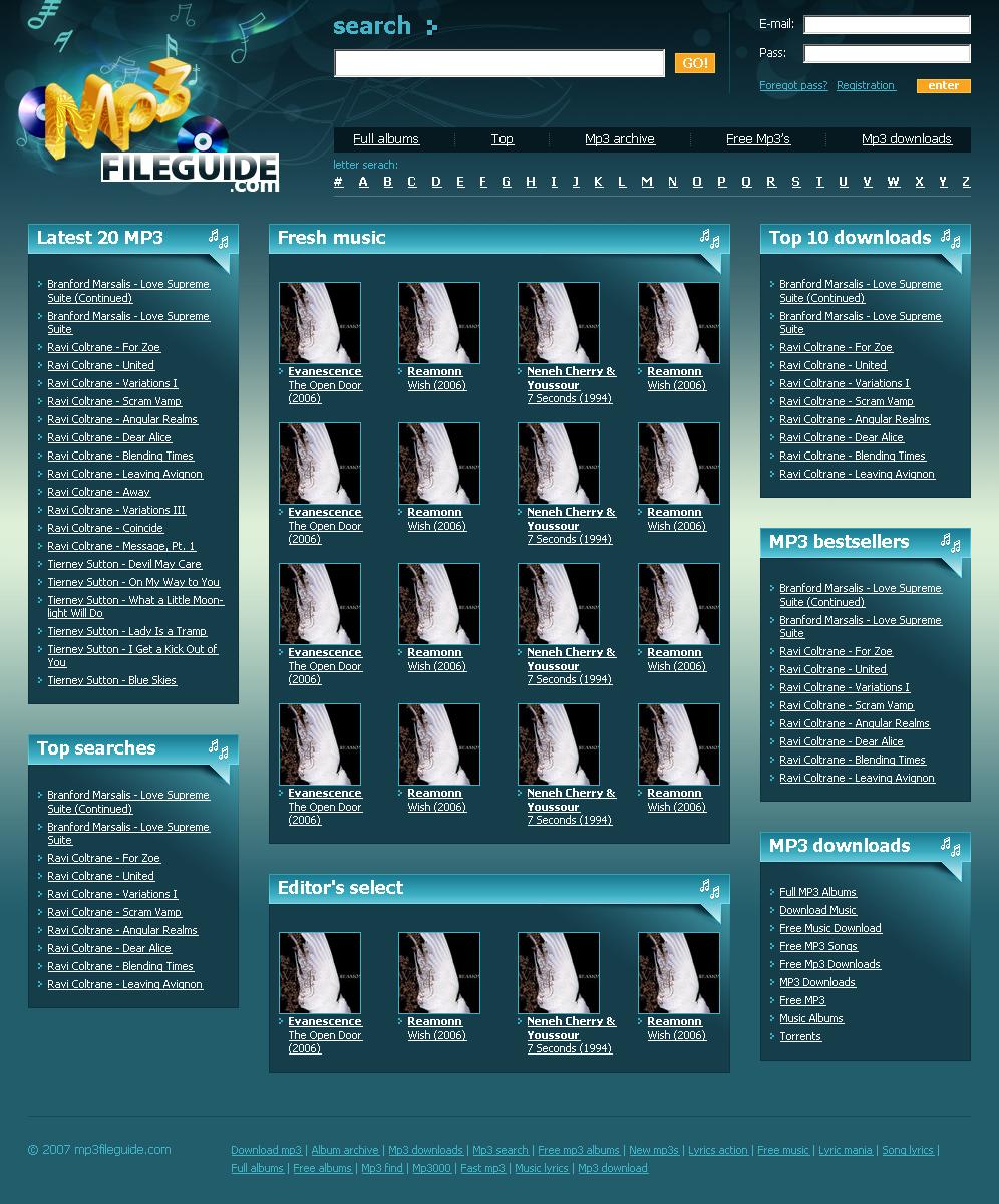 mp3 File Guide (Портал MP3)