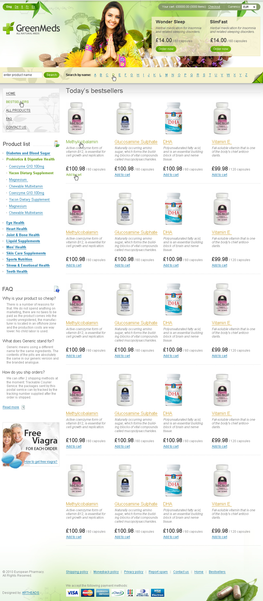 GreenMeds - Аптека онлайн