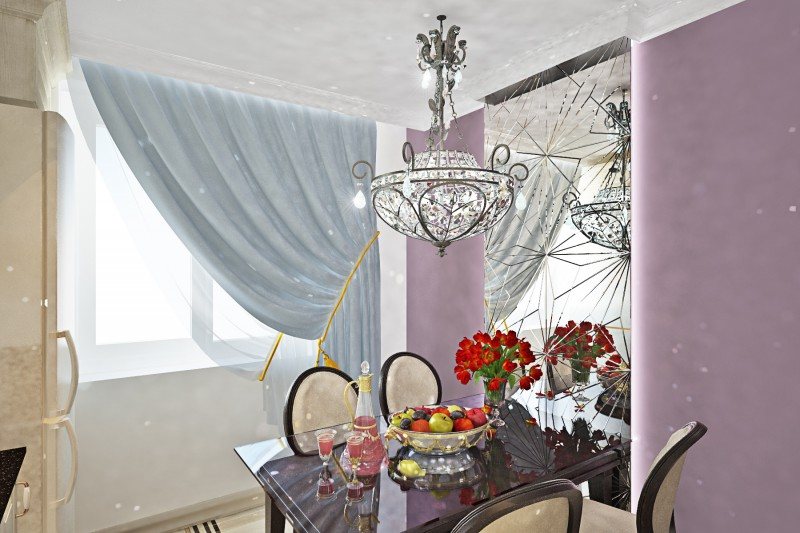 Дизайн-проект квартиры в районе Новокосино, г. Москва