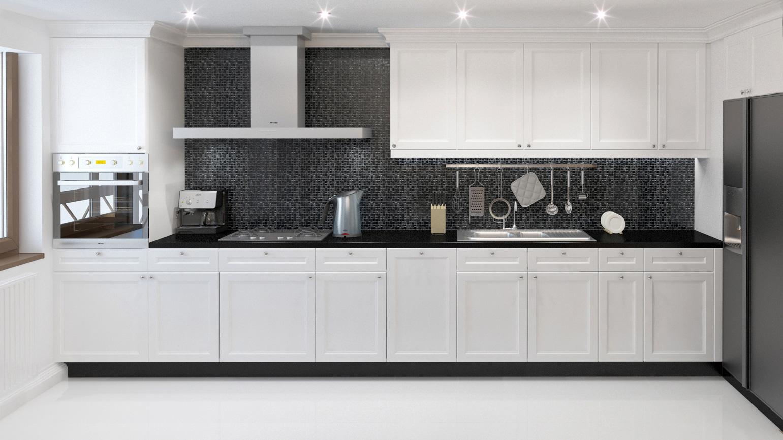 Дизайн интерьера квартиры, усадьба Салтыковка, кухня