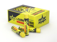3D визуалзиция упаковки и флаконов L-Karnitine