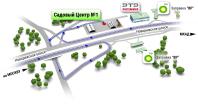 Схема проезди Садовый центр №1.