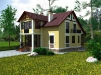 Загородный дом-1