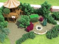 Детская площадка на частном участке