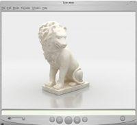 Интерактивная модель скульптуры