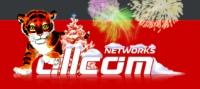 Новогодний лого Allcom.