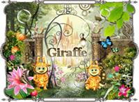 """Анимация главной страницы """"Giraffe""""."""