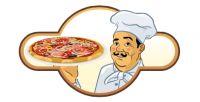 Анимация логотипа пицерии.