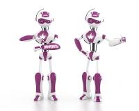 Персонаж робот для сайта.