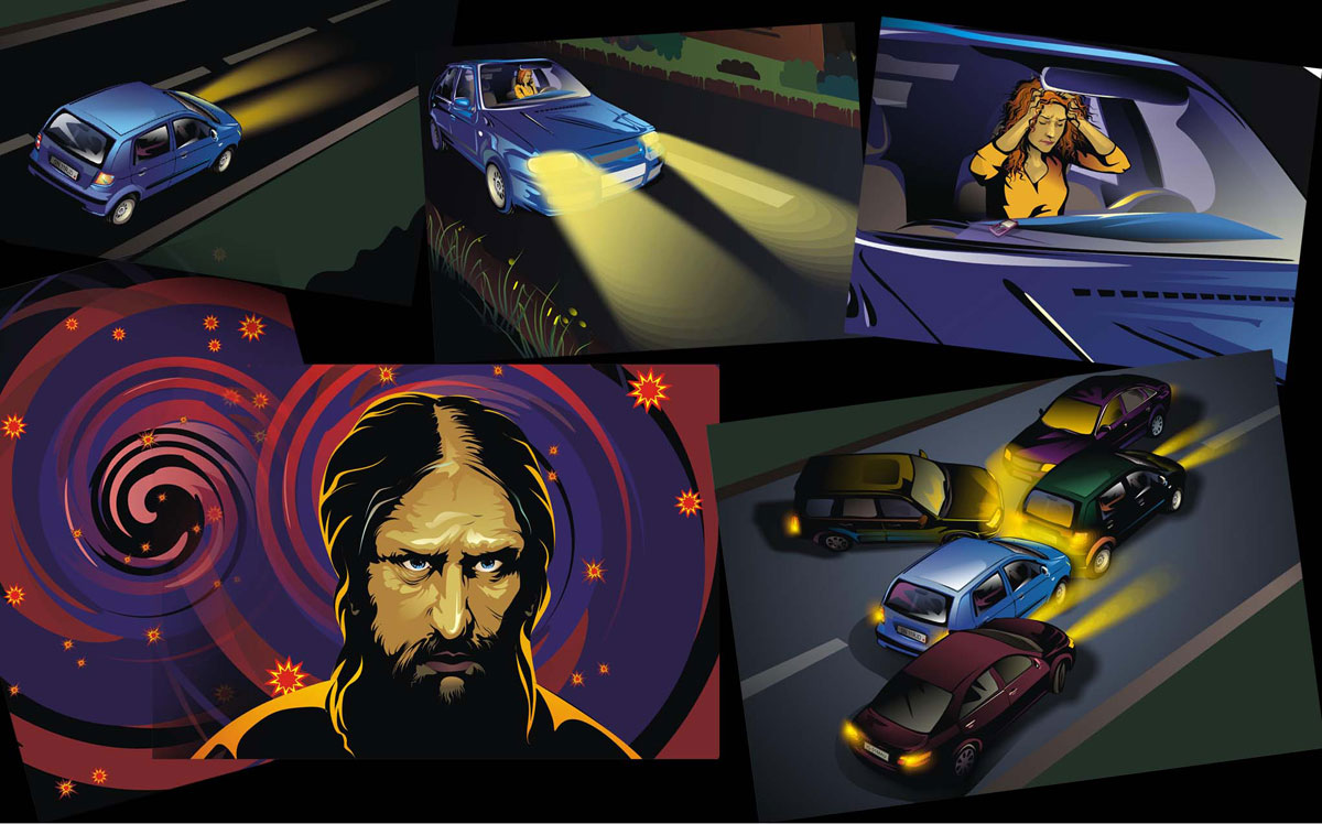 "Comics for game ""Rasputin"" 3"