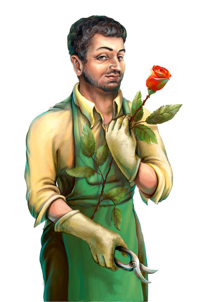 For game - gardener