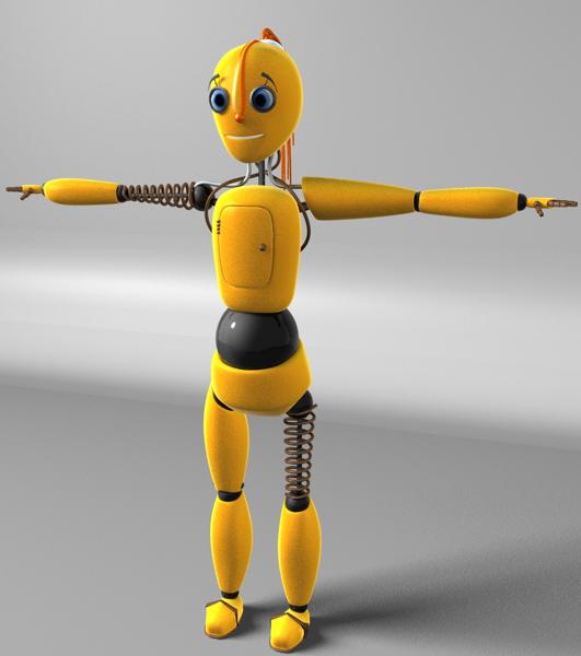 """Модель Робота - Ребёнка """"Роботёнок"""" фото f_4b54112471729.jpg"""