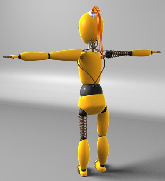 "Модель Робота - Ребёнка ""Роботёнок"" фото f_4b5411336f5a7.jpg"