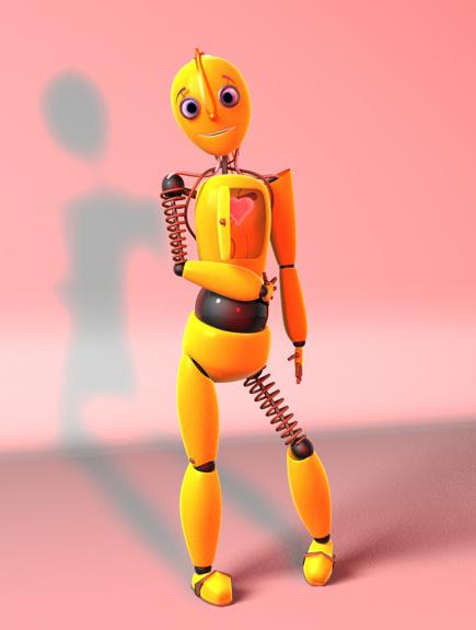 "Модель Робота - Ребёнка ""Роботёнок"" фото f_4b54113ace939.jpg"