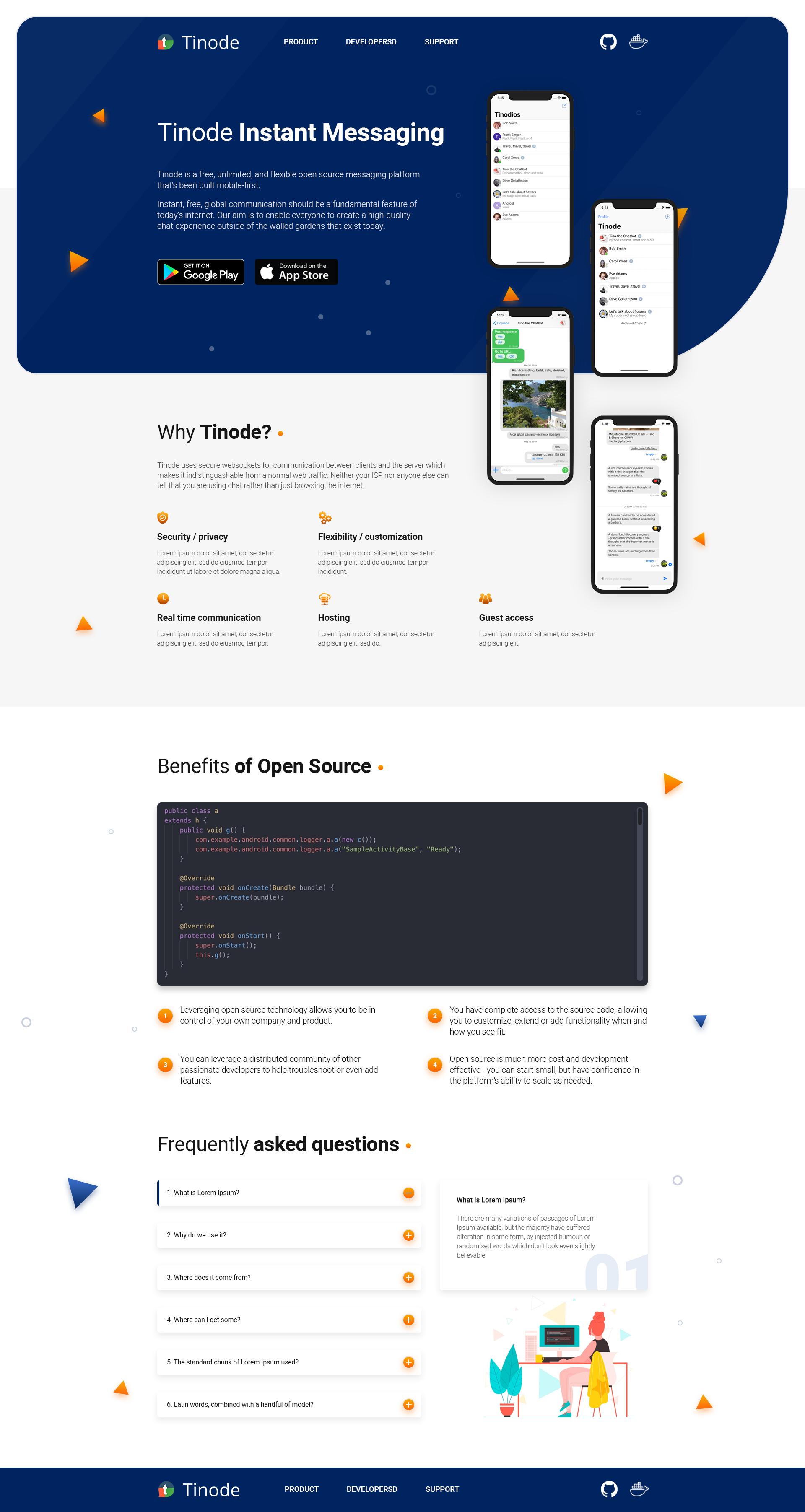Дизайн сайта tinode.co фото f_2195d6fcba152dd4.png