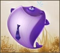 Фиолетовый кит