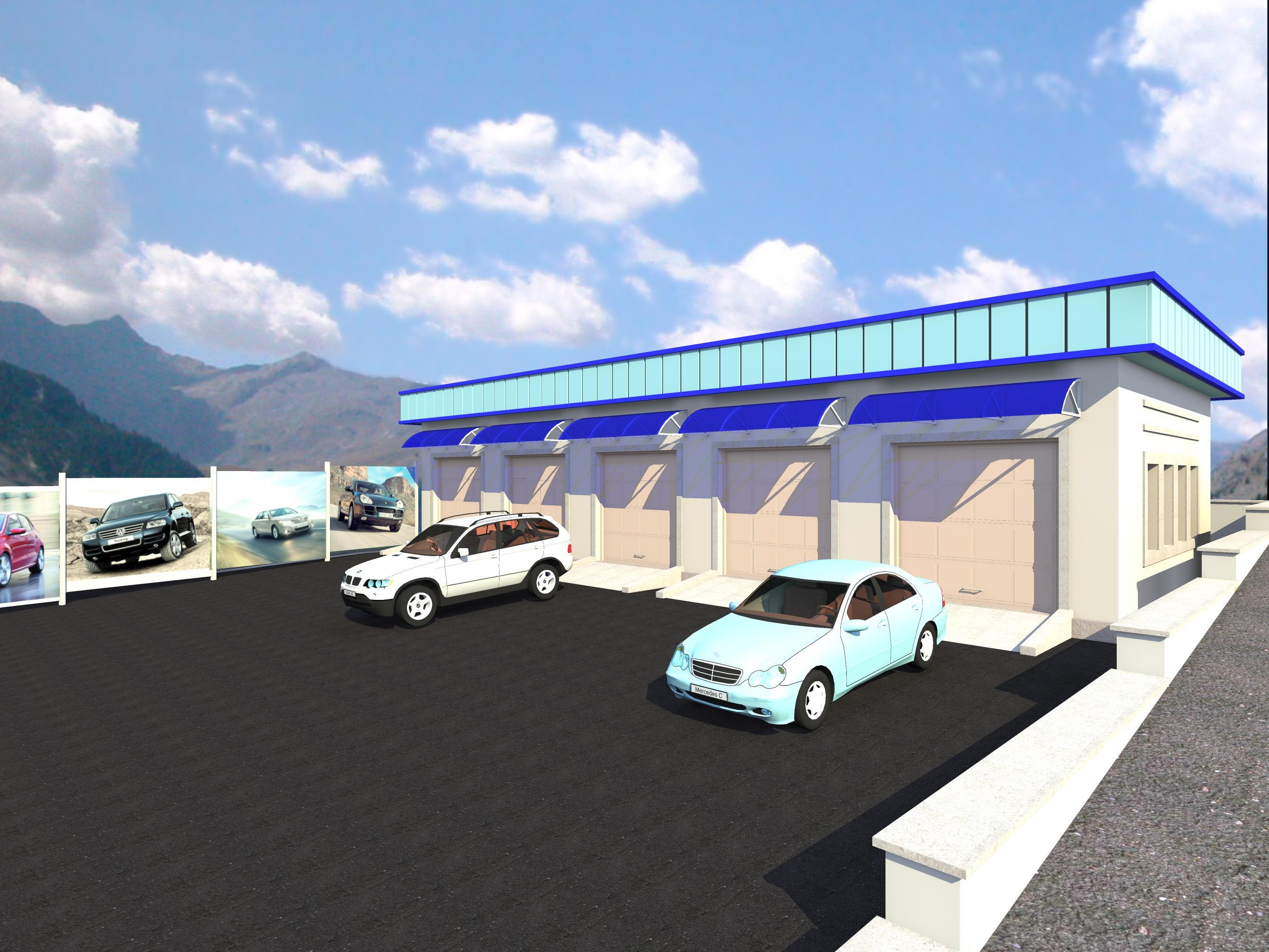 Автозапчастный магазин и пункт техобслуживания - 2