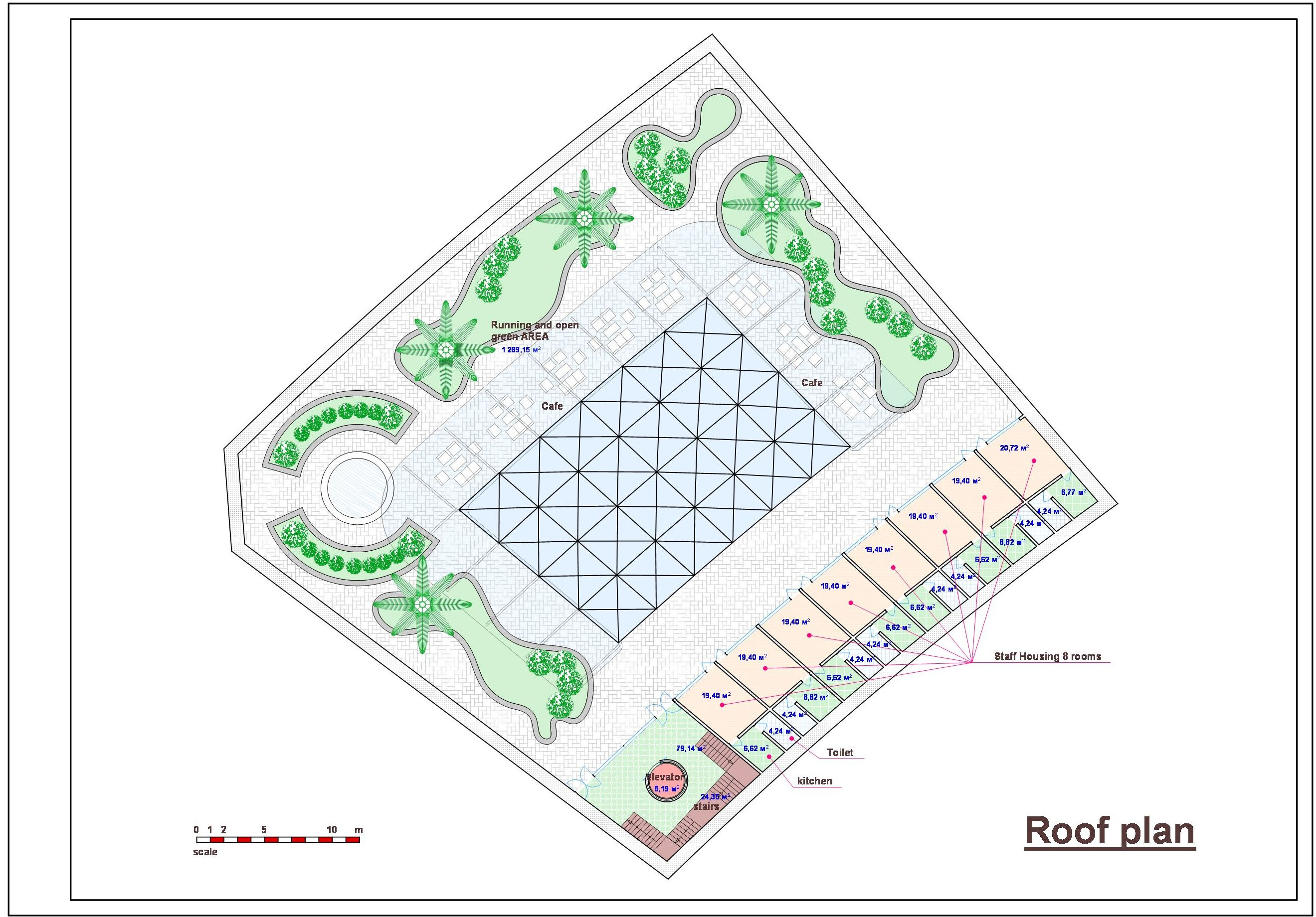 Спортивно-оздоровительный комплекс в Саудовской Аравии. План-4