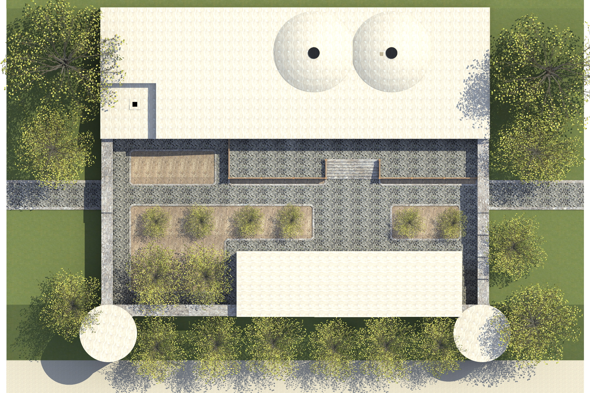 3д визуализация восстановления средневекового дворца - 8