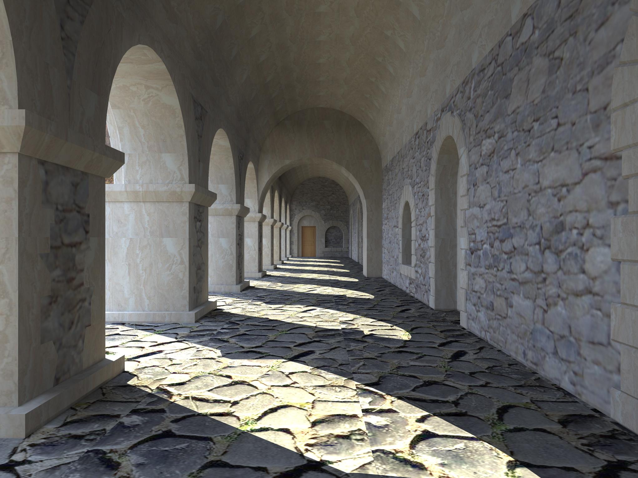 3д визуализация восстановления средневекового дворца - 6