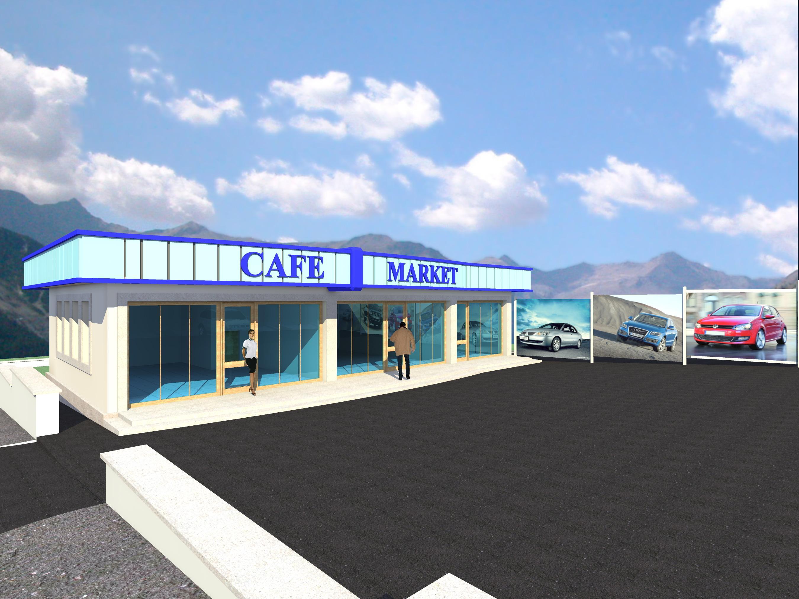 Автозапчастный магазин и пункт техобслуживания - 1