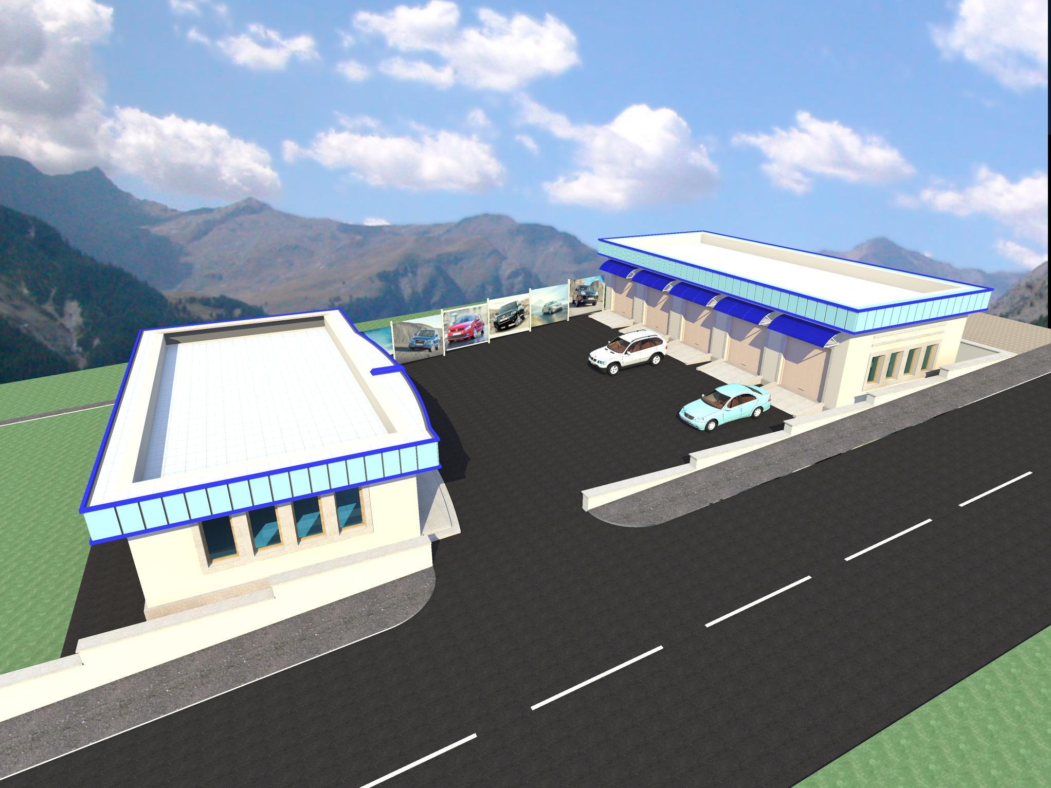 Автозапчастный магазин и пункт техобслуживания - 3