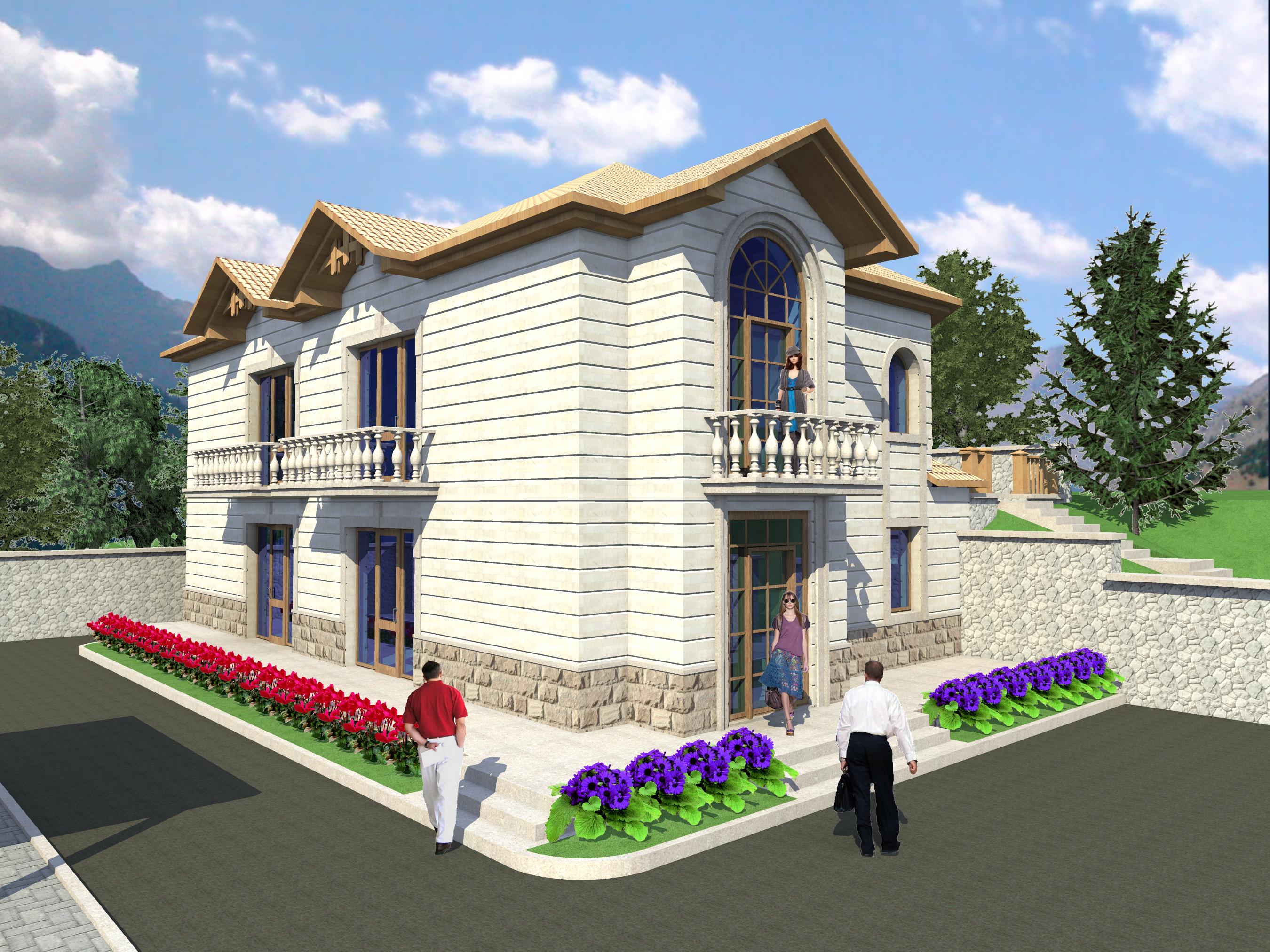 Гостевой дом вариант 2
