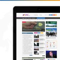 MaksPortal - дизайн новостного портала города Сочи