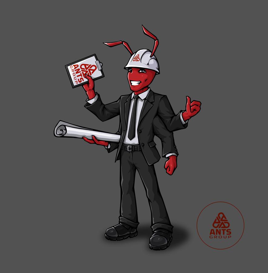 """Необходимо разработать дизайн персонажа """"Муравей"""" для сайта  фото f_837578bdb12966ec.png"""