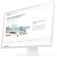 Дизайн сайта компании, специализирующейся на работе с тяжеловесными и негабаритными грузами «Техномарк»