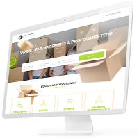 Дизайн ленда сервиса организации переездов «DemenagenetPro»