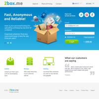 Дизайн сайта 2BoxMe