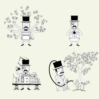 Иллюстрация Банкиров