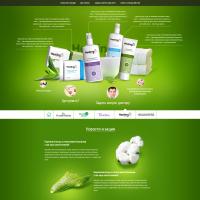 Дизайн сайт Green Lab