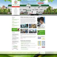 Дизайн сайта Медцентра