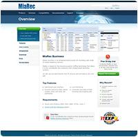 Дизайн сайта MiaRec