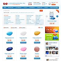 Дизайн интернет магазина Медикаментов