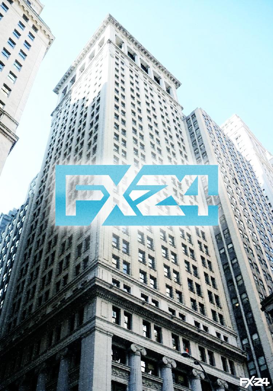 Разработка логотипа компании FX-24 фото f_26650e800dc831b5.jpg