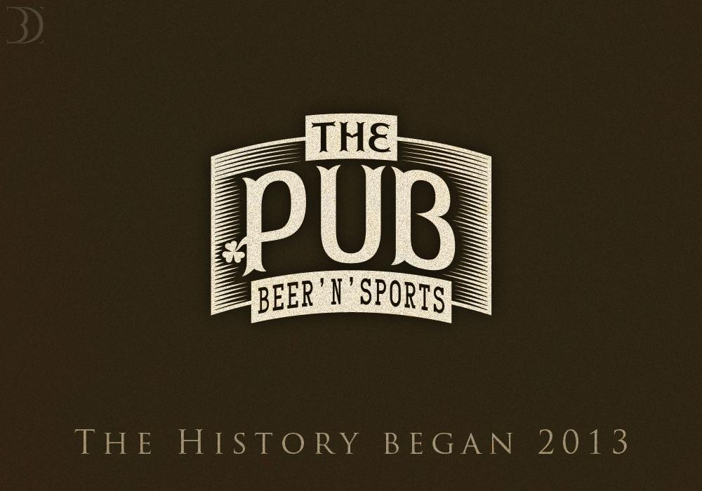 """Разработка логотипа торговой марки """"THEPUB"""" фото f_36951df305cbaf14.jpg"""